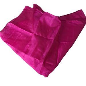 Charvet  100% Silk White Pocket Square